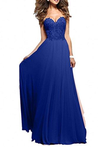 Abendkleider lang nachtblau