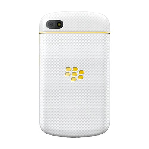 Blackberry Q10 Rfn81uw 16gb White Gold Special Edition