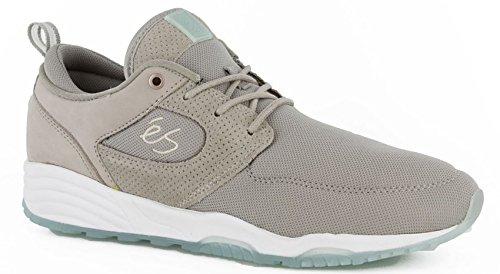 Etnies baskets homme accelite chaussures à lacets en cuir véritable, gris - Warm-Grey