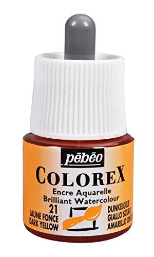 Colorex Aquarelltinte, PET, Dunkelgelb, 4.5 x 4.5 x 7 cm, 1 Einheiten
