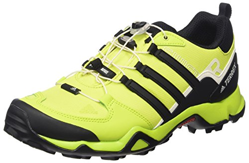 adidas Herren Terrex Swift R Outdoor Fitnessschuhe Gelb (Semi Solar Yellow/Core Black/Chalk White)