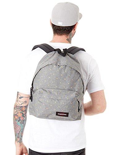 Eastpak Padded Pakr Polyamide,Polyester Blue,Brown,Grey,Red backpack - Backpacks (Polyamide, Polyester, Blue, Brown, Grey, Red, Monotone, 35.6 cm (14), Front pocket, Zipper) Grigio