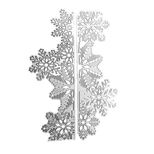 Schneid-Form Schneeflocken-Muster DIY Prägemesser Stanzmesser Schaben Messer Modell Kinder Party Manuelle Aktivitäten 1 Stück