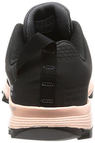 adidas Kanadia 8 Tr W, Chaussures de Running Entrainement Femme, Gris Noir (Color Utility Black/Core Black/Vapour Pink)