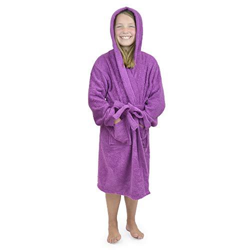 CityComfort Toalla para niños, niños, niñas, niñas, niñas, con Capucha, toallero, Albornoz, 100%...