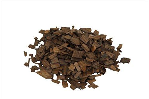 'MoonshinersChoice' Holzspäne Eiche - stark geröstet - 40 Gramm im Beutel - Echtholz-Chips zum Aromatisieren von Spirituosen und Wein - Fasslagerung