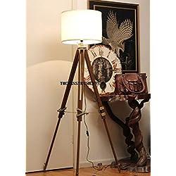 Vintage Classic tripod floor lamp