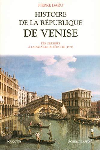 Histoire de la république de Venise - Tome 1 (01) par Pierre DARU