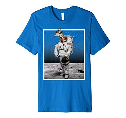 Funny Space Giraffe TShirt–Astronaut Giraffe für Meme Love (Funny T-shirt Stolz Tee)