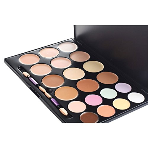 FantasyDay® 20 Couleurs Palette de Maquillage Correcteur Camouflage Crème Cosmétique Set - Parfait pour une Utilisation Professionnelle et Quotidienne