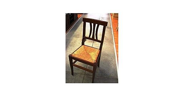 estea Mobiles – Magnifique Chaise 3 barreaux Assise Paille