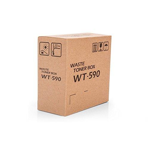 Waste Toner Container (Kyocera wt-590–Ersatzteile Print der Geräte (Kyocera, multifunktional, Kyocera ECOSYS P6021cdn 2.800Seiten Kyocera ECOSYS P6026cdn, Kyocera FSC2026MFP Kyocera FSC2126MFP, Abfall Toner Container, weiß))