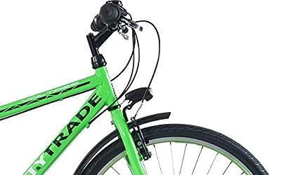 26 Zoll Kinderfahrrad Cityfahrrad Kinder Herren City Fahrrad Bike Rad Jugendfahrrad Jungenfahrrad 21 Gang Voltage Man GRÜN TYT19-047