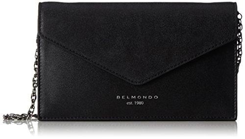 Belmondo Damen 740276 Schultertasche, 23x13x4 cm Silber (Stardust)