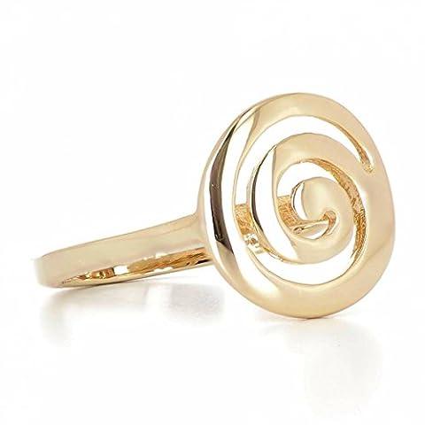 ISADY - Ernsta Gold - Bague femme - Plaqué Or 750/000 (18 carats)