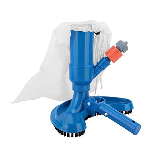 Kylewo Pool Bodensauger, Reinigungsbürste Poolbürsten Vakuum Kopf mit Schlauchanschluss Jet-Pool Staubsauger Schwimmendes Objekt Reinigungswerkzeug