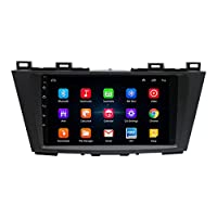 Car Navigation, 2DIN 9 Inch Android 8.1 2.5D Press Sn Car MP5 Player 1G+16G Wifi Bluetooth FM Radio For Mazda 5 GPS Navigation, Multifunction