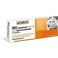Preisvergleich für Ibu-ratiopharm 200 akut Tabletten, 20 St.