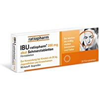 Ibu-ratiopharm 200 akut Tabletten, 20 St. preisvergleich bei billige-tabletten.eu