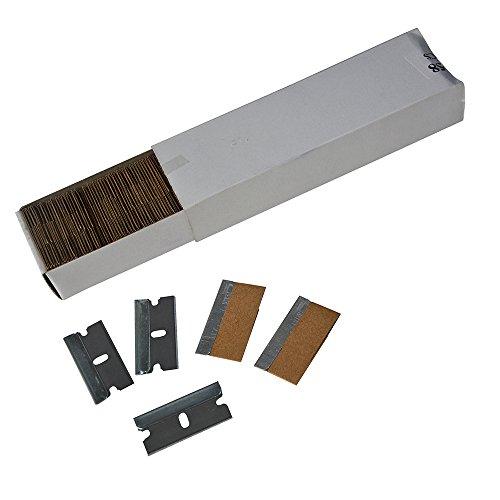 Ehdis® 100 Stück Carbon Steel Single Edge Heavy Duty 1.5