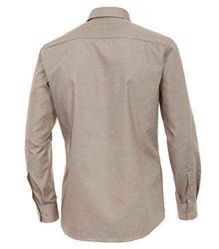 Michaelax-Fashion-Trade -  Camicia classiche  - Basic - Classico  - Maniche lunghe  - Uomo Grey - Taupe (600)