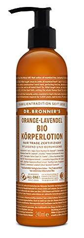 Organic Orange Lavender Lotion - 236ml