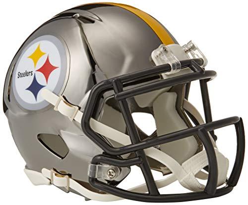 f1f3d4c2b42 Riddell Chrome Alternate NFL Speed Authentic Full Size Helmet Pittsburgh  Steelers