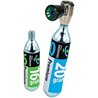 Genuine Innovations G2673 AirChuck Co2 Inflator, 16 g and 20 g, Multicolour