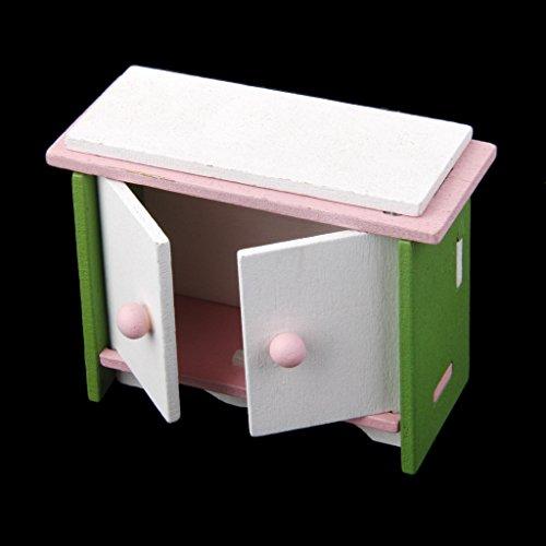 Set Mobili Da Salotto In Legno Decorazioni Casa Delle Bambole In Miniatura, Giocattoli Bambine