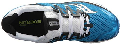 Saucony Triumph ISO 4, Sneaker Uomo Blu (Blk/Wht 2)