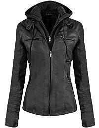 purchase cheap 6266f 45f69 Suchergebnis auf Amazon.de für: Schwarze Lederjacke Damen ...