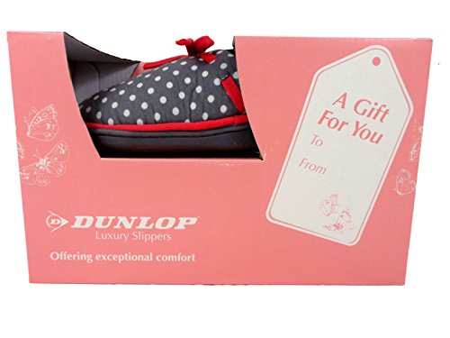 Dunlop - Retro aperto donna Grigio (grigio)