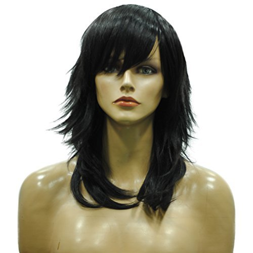 namecute-black-wig-layered-side-bangs-synthetic-wigs-free-wig-cap