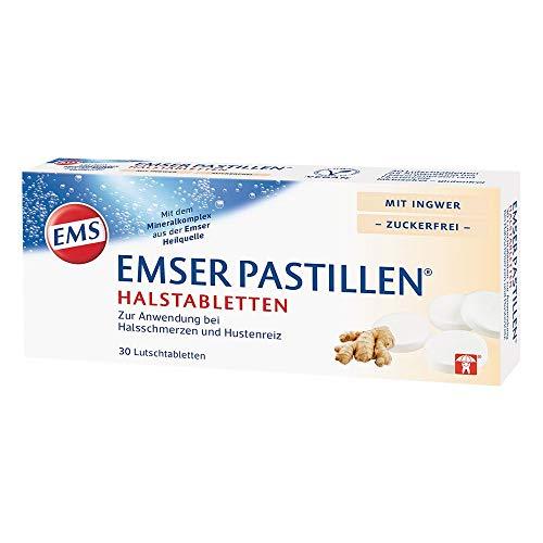 Emser Pastillen mit Ingwer - 30 St.