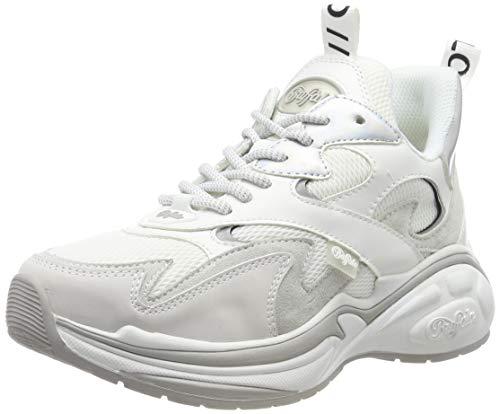 Buffalo Damen CAI Sneaker, Weiß (White 001), 39 EU