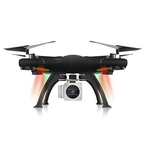 RC Quadcopter, mamum WiFi FPV RTF 2.4G 4CH RC schwarz Quadcopter Kamera Drohne mit HD Kamera UAV (Rc Quadcopter Drohnen)