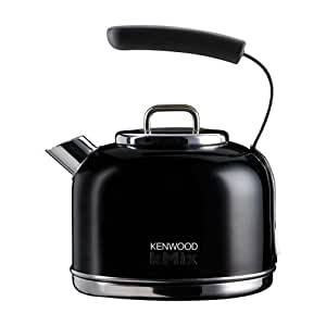 kenwood kmix skm034 litre traditional kettle peppercorn black kitchen home. Black Bedroom Furniture Sets. Home Design Ideas