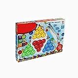 Xiton Gebäude Blöcke Magic Bead Blöcke 3D-Gebäude Set Magnet Fliesen Puzzle-Stapel-Bau-Blöcke pädagogische Spielzeuge für Kinder Kleinkind Kinder Jungen 3 4 5 6 7 Jahre Alt
