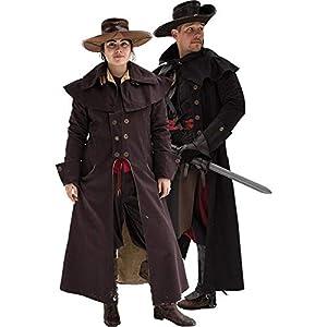 Epic Armoury- Coat Hellsing-Dark Brown-XS Abrigo, Color marrón oscuro (Iron Fortress 30079640)