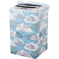 GZQ Housse de lave-linge étanche pour sèche-linge et sèche-linge automatique Top Load Color C