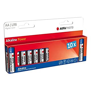 Agfa Digital Alkaline Batteries AA Extreme Power 1.5 V, 2750 mAh