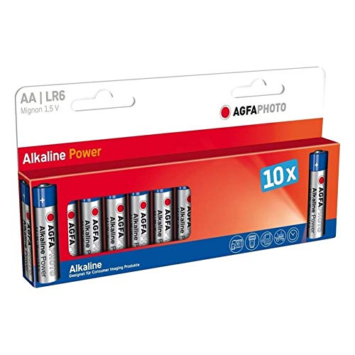 Agfa Digital Extreme Power Alkaline AA-Batterien (1,5 V, 2750 mAh), 1.50V Aa Digital-alkaline-batterie