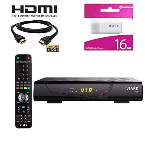Kit Receptor SATELITE VIARK Sat- DIGITALIA- Regalo Cable HDMI Y Memoria USB 16GB