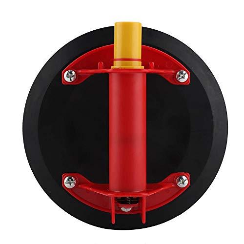 HEEPDD Saugheber Vakuumsauger, Hochleistungsvakuumheber-Selbstkörper-Einbuchtungs-Abzieher-Abbau-Werkzeug mit Metallgriff für Granit und Glas-anhebendes Fenster-Ersatz