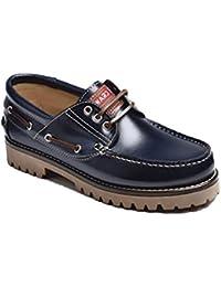 Valencia Chaussures Apache Bleu Olivenza - Couleur - Bleu, Taille - 40