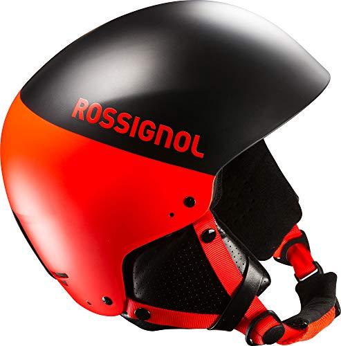 Rossignol Herren Hero 8SL Auswirkungen mit Kinnschutz Ski Helm, Herren, HENHELMET45Y065, Black/Hot Red, 60 -