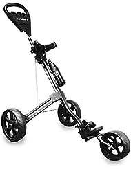 LONGRIDGE 2019 Golf Tri Cart 3-Rad Herren Push/Pull Golfwagen