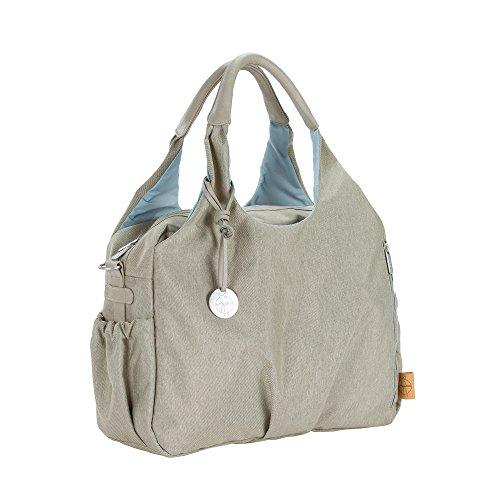 Lässig 1101003303 Wickeltasche Green Label Global Bag Ecoya, sand/beige
