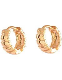 Ganapathy Gems 1Gram Gold Plated Small Bali (7105) 7105
