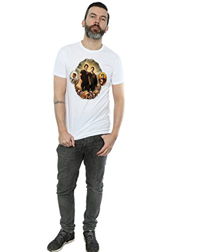 super.natural Supernatural Herren Holy Shrine T-Shirt Weiß